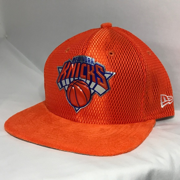 info for 41572 6a7a8 New Era NY New York Knicks NBA 9FIFTY SnapBack Hat